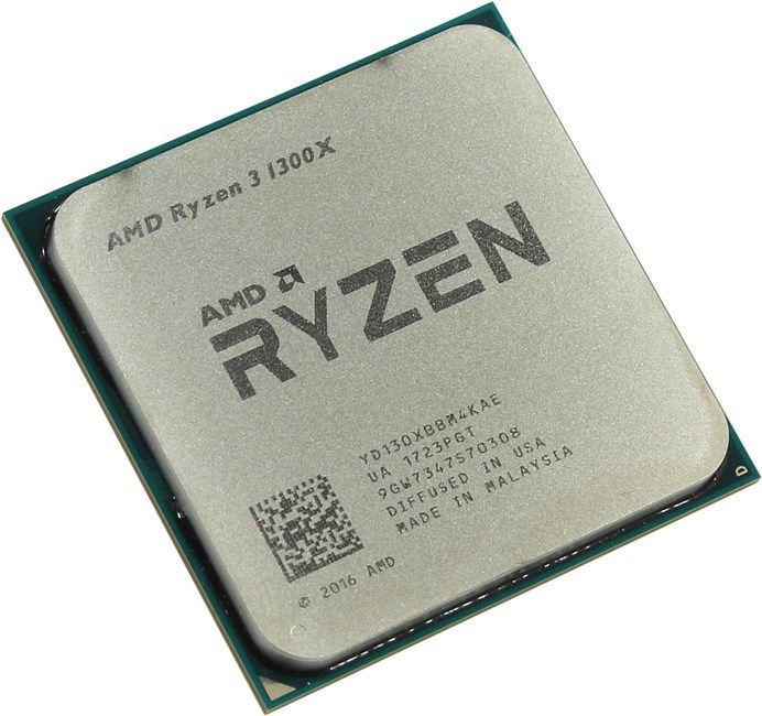 Процессор AMD Ryzen 3 1300X  3.5GHz/3.7GHz S-AM4 4C/4Th 8Mb OEM