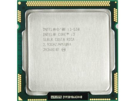 Процессор Intel Core i3-530 2.93GHz S-1156 2C/4Th 4Mb HD Graphics OEM