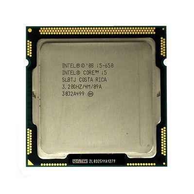 Процессор Intel Core i5-650 3.2GHz/3.46GHz S-1156 2C/4Th 4Mb HD Graphics OEM