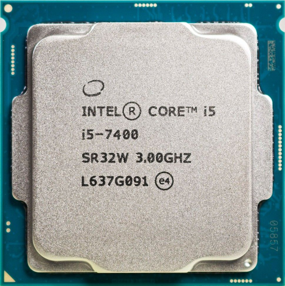 Процессор Intel Core i5-7400 3.0GHz/3.5GHz S-1151 4C/4Th 6Mb HD Graphics 630 OEM