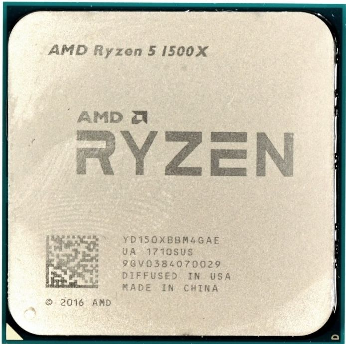 Процессор AMD Ryzen 5 1500X 3.5GHz/3.7GHz S-AM4 4C/8Th 16Mb OEM