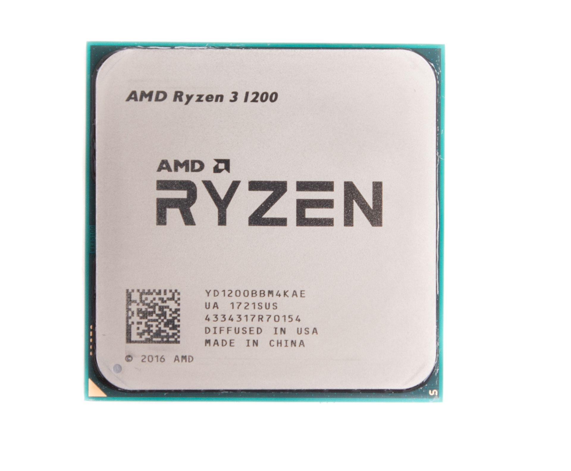 Процессор AMD Ryzen 3 1200 3.1GHz/3.4GHz S-AM4 4C/4Th 8Mb OEM