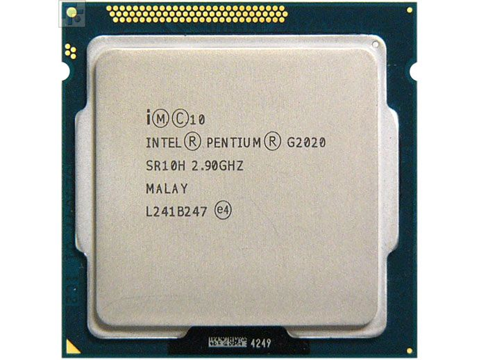 Процессор Intel Pentium G2020 2.9GHz S-1155 2C/2Th 3Mb HD Graphics OEM