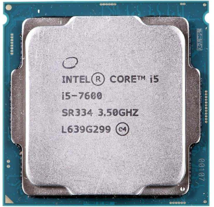 Процессор Intel Core i5-7600 3.5GHz/4.1GHz S-1151 4C/4Th 6Mb HD Graphics 630 OEM