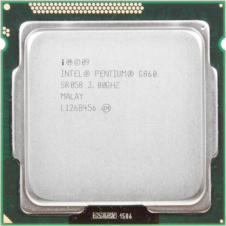 Процессор Intel Pentium G860 3.0GHz S-1155 2C/2Th 3Mb HD Graphics OEM