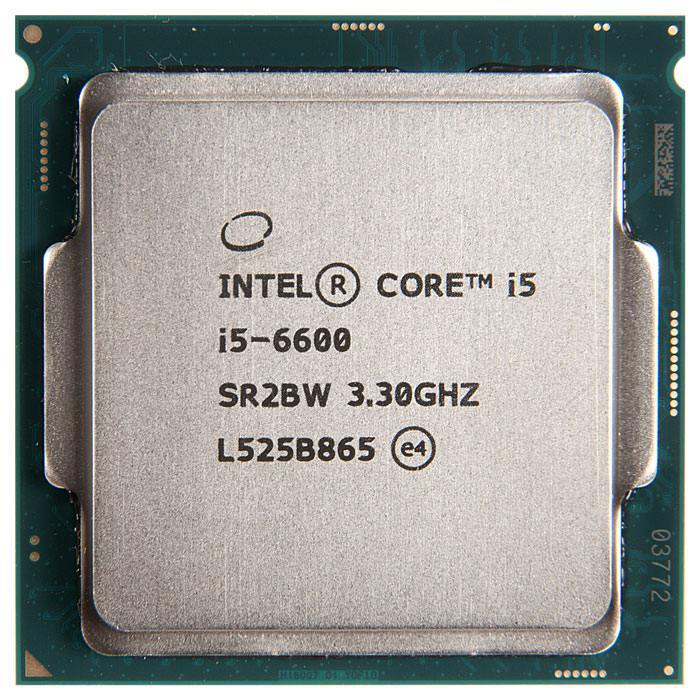 Процессор Intel Core i5-6600 3.3GHz/3.9GHz S-1151 4C/4Th 6Mb HD Graphics 530 OEM