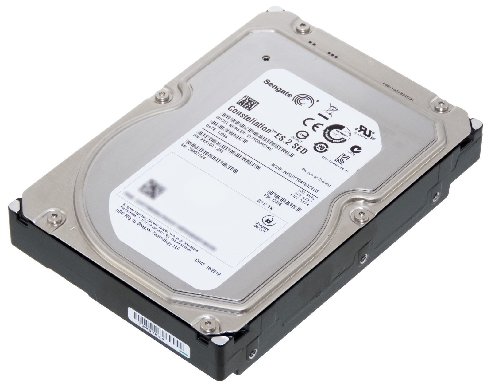 Жесткий диск Seagate Constellation ES.2 (ST33000651NS) 3Tb 7200rpm 64Mb SATA3